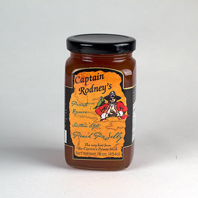 Captain Rodney's Private Reserve - Peach Pie Jelly