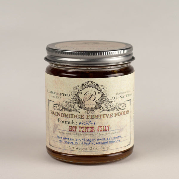 BainBridge Hot Pepper Jelly