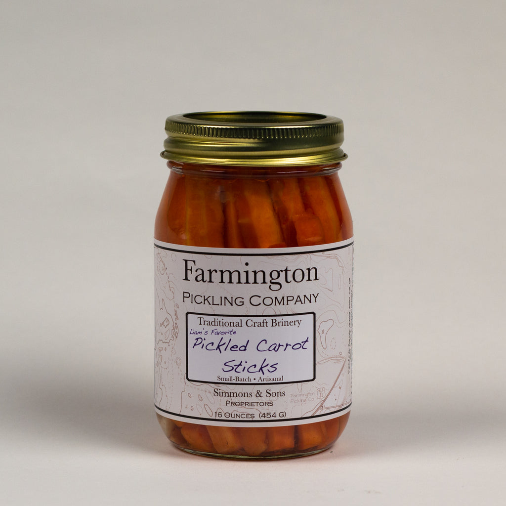 Farmington Pickling Co. Pickled Carrots