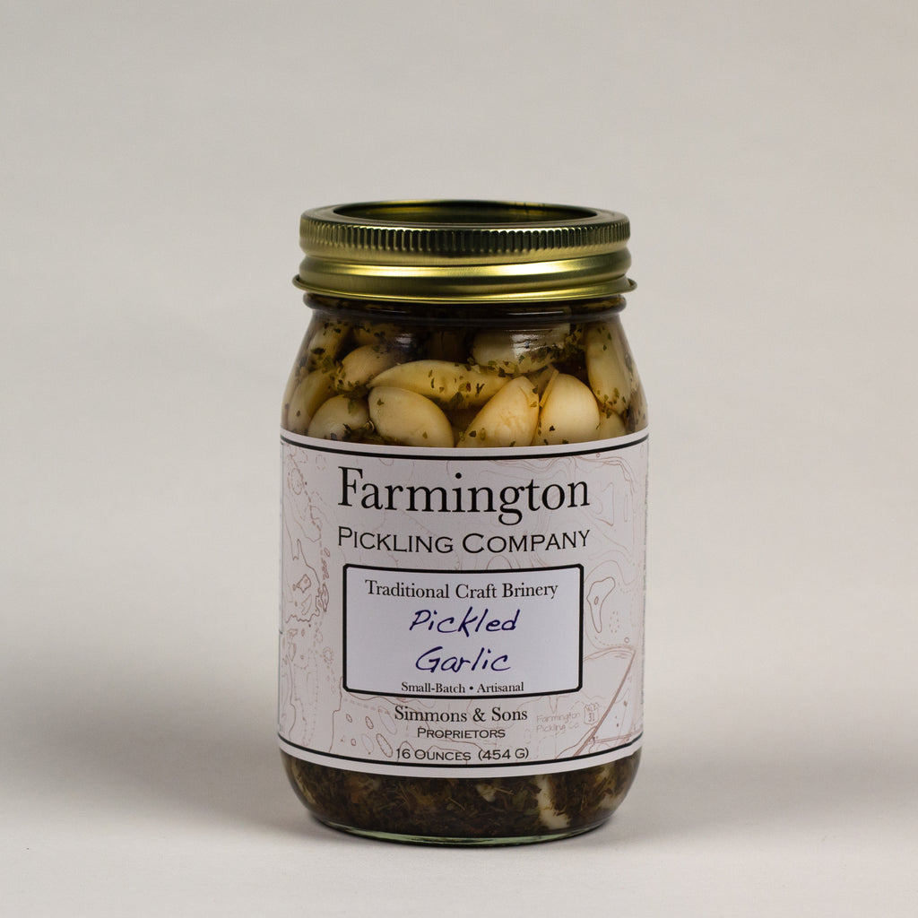 Farmington Pickling Co. Pickled Garlic
