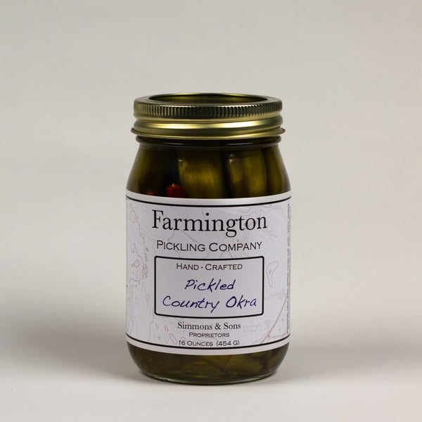 Farmington Pickling Co. Pickled Okra