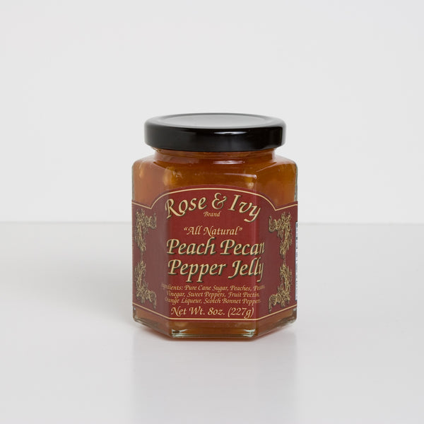 Rose & Ivy Fruit Pecan Pepper Jellies