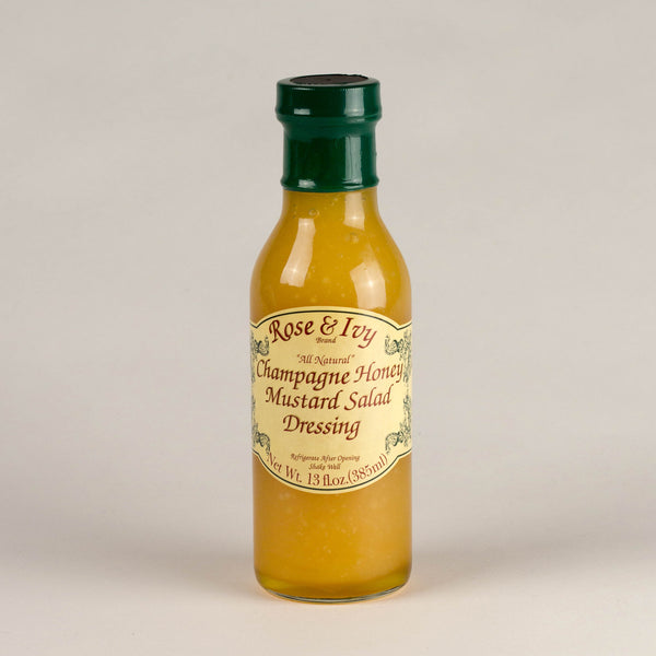 Rose & Ivy Champagne Honey Mustard Salad Dressing