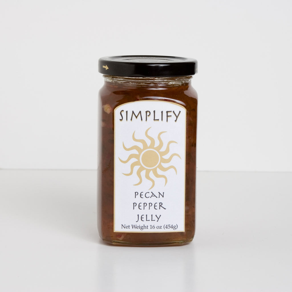 Simplify Pecan Pepper Jelly