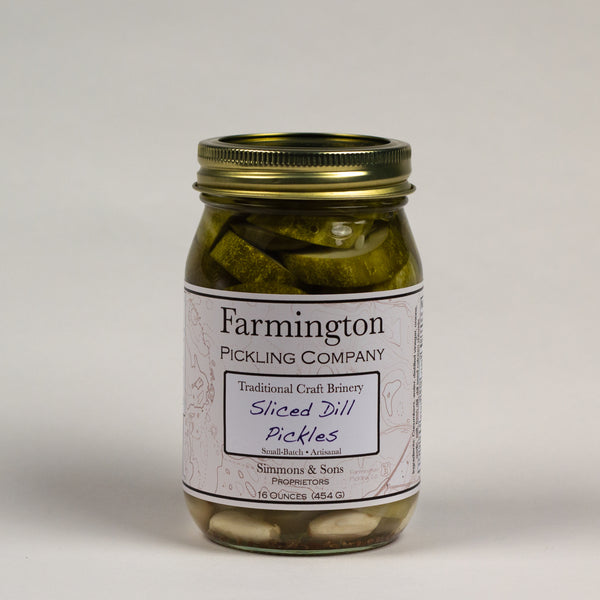 Farmington Pickling Co. Sliced Dill Pickles