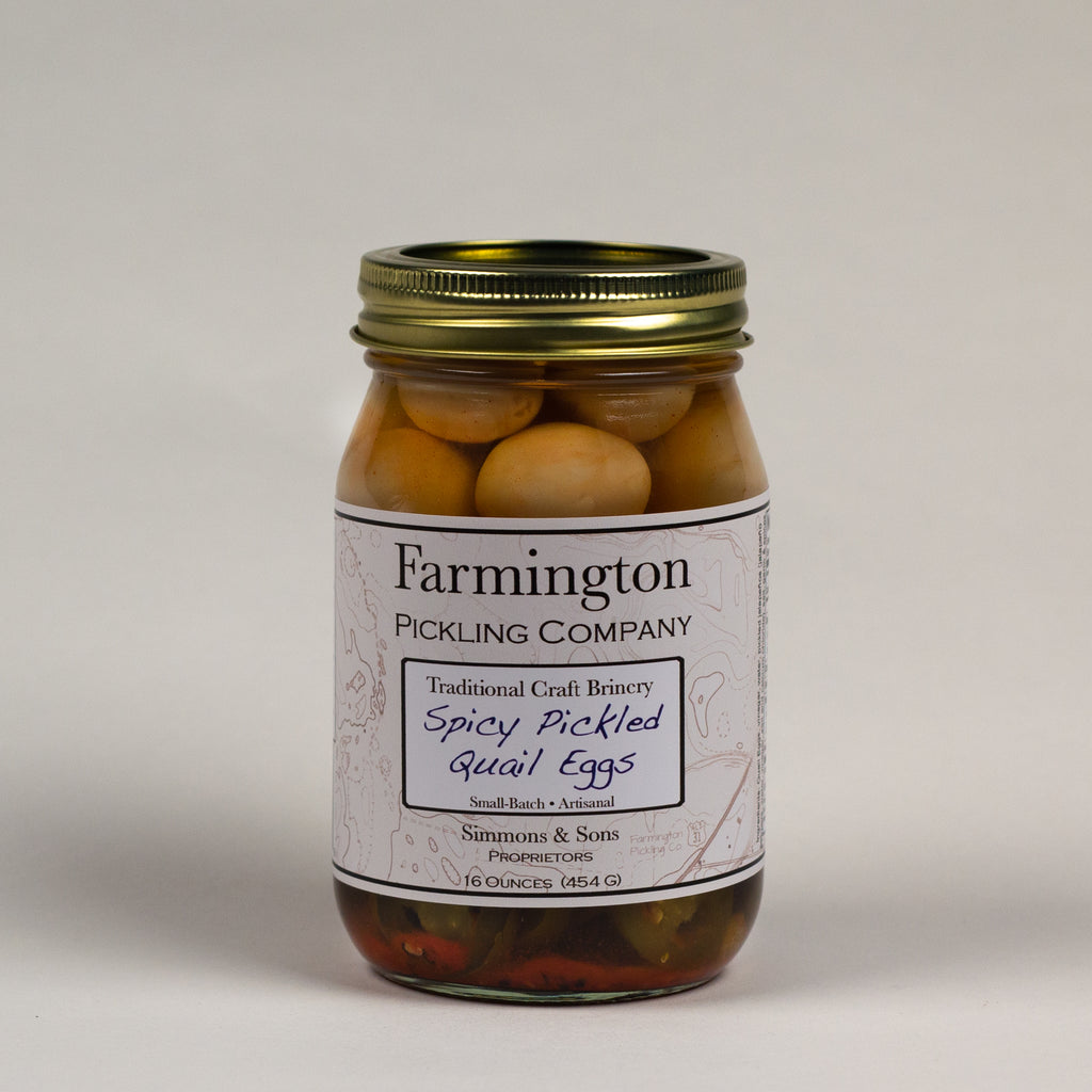 Farmington Pickling Co. Spicy Quail Eggs