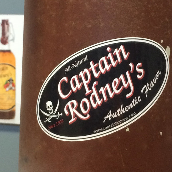 Captain Rodney's +1 All-Weather Sticker of Marking