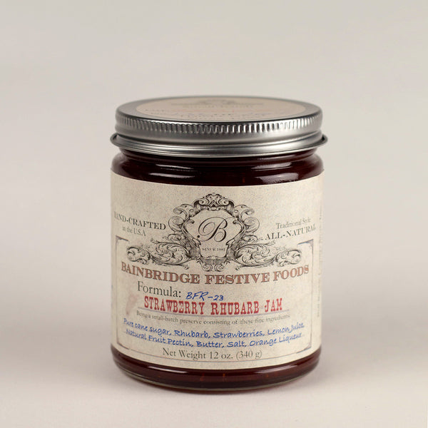 BainBridge Strawberry Rhubarb Jam
