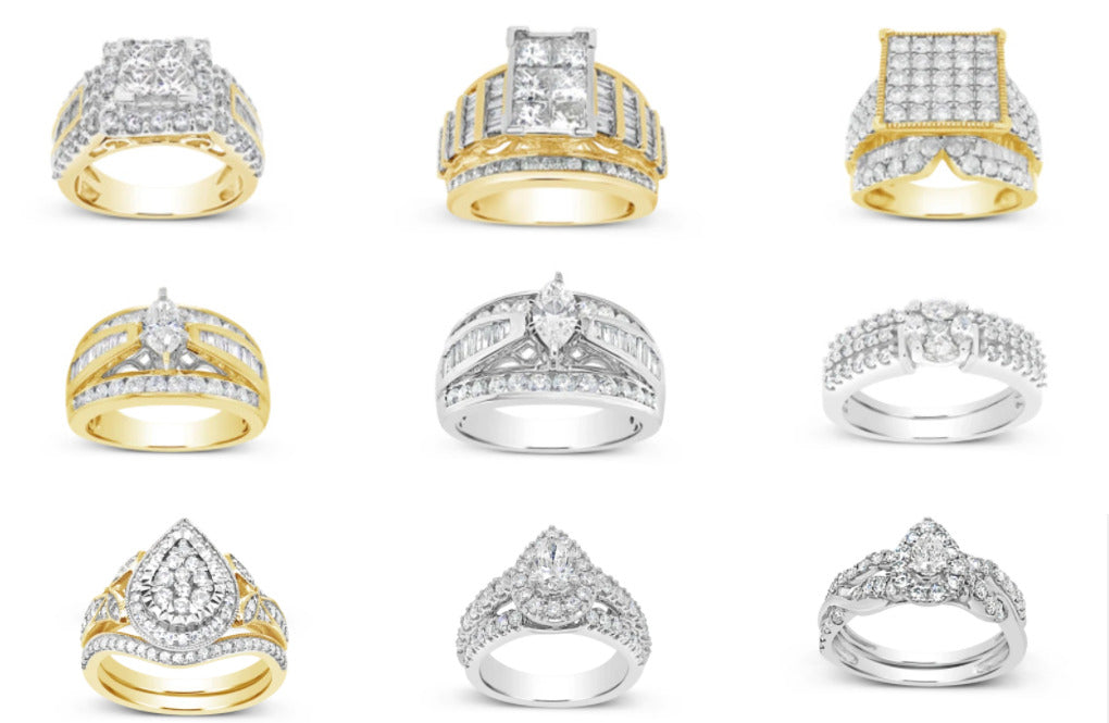 What are the different styles of Engagement ring?