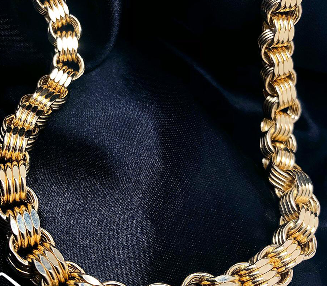 Gold Chain Collection