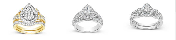 pear style engagement ring