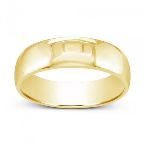 10K Yellow Gold Wedding Band