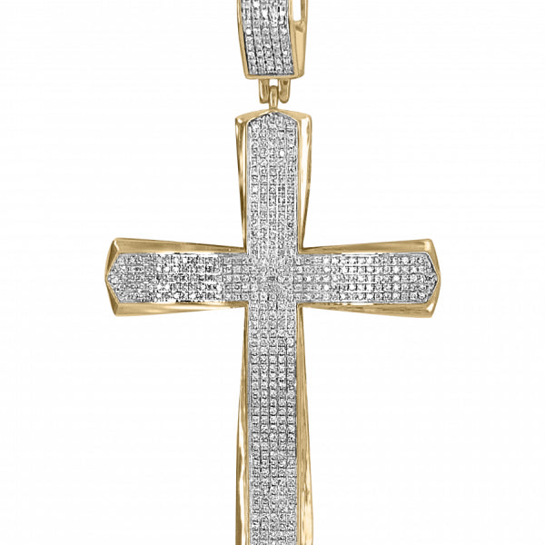 1.05ct Diamond Cross