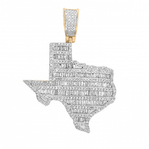 1.45ct Diamond Texas Pendant