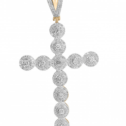 2.20ct Diamond Cross