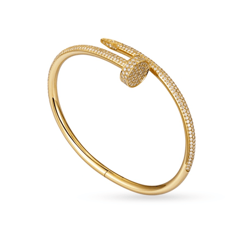 10K Yellow Gold Women's Bracelet With 2.40CT Diamonds