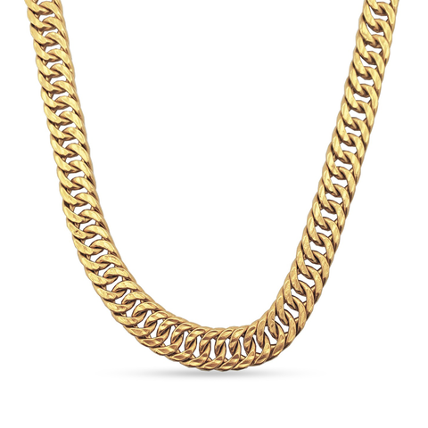 10K Yellow Gold Custom Chain