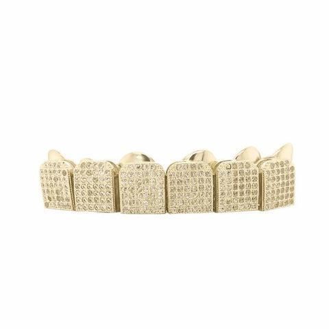6 PIECE 10K GOLD GRILL