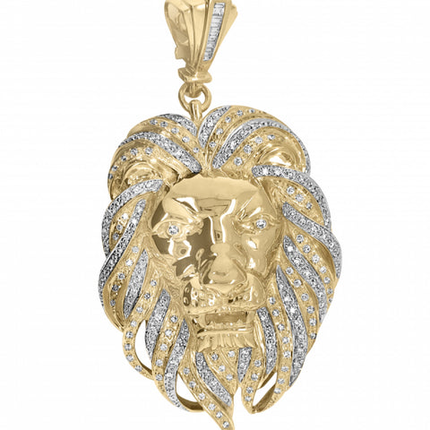 2.39ct Diamond 3D Lion