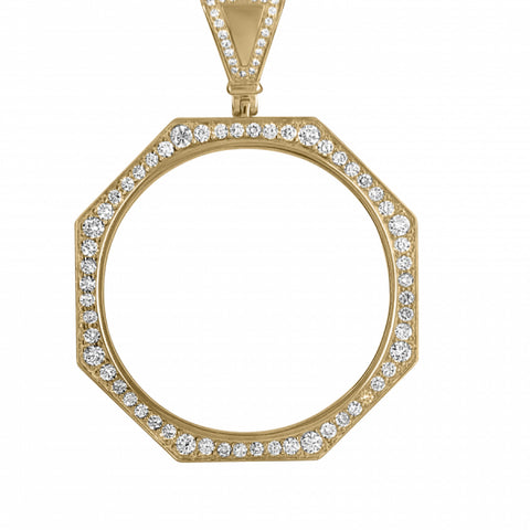 2.20ct Diamond Memory Pendant