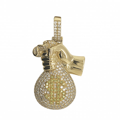 3.39ct Diamond Money Bag