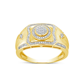 Diamond Ring .23CT tw Round Cut 10K Yellow Gold