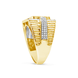 Diamond Ring .55 CTW Round Cut 10K Yellow Gold
