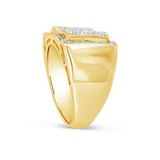 Diamond Ring .46 CTW Round Cut 10K Yellow Gold
