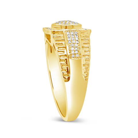Diamond Ring .25 CTW Round Cut 10K Yellow Gold