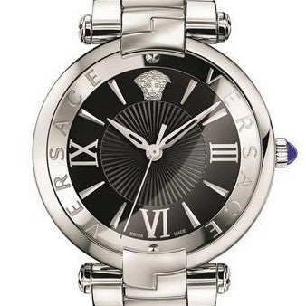 Stainless Steel Revive Versace Watch w/ Roman indexes