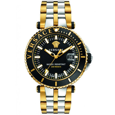 Two Tone V-Race Diver w/ Luminous Hands