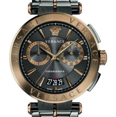 Mens Versace V-Racer Chronograph Watch