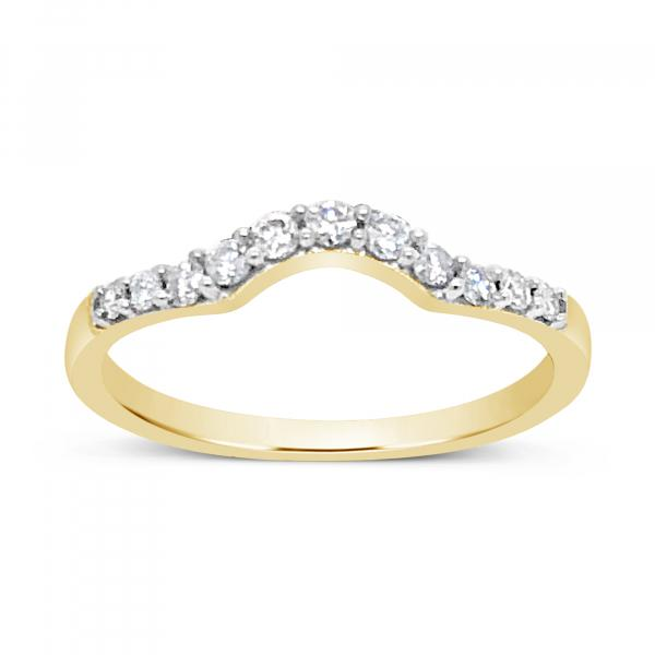 Diamond Band .33CT tw 14K Yellow Gold Band