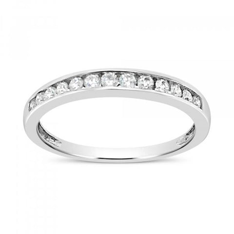 Diamond Band .26 CTW 14K White Gold