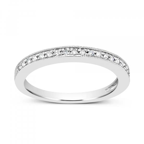 Diamond Band .10CT tw Round Cut 10K Yellow Gold