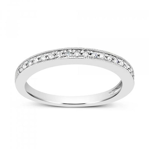 Diamond Band .10 CTW Round Cut 10K Yellow Gold