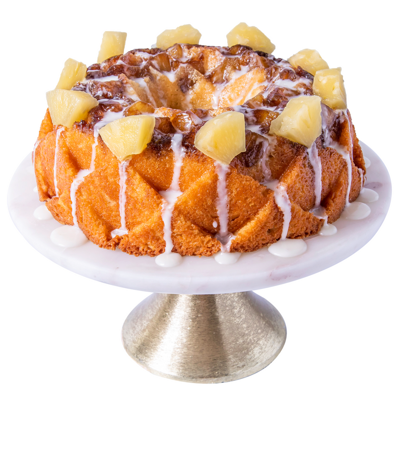 Pineapple Hennessy Pound Cake