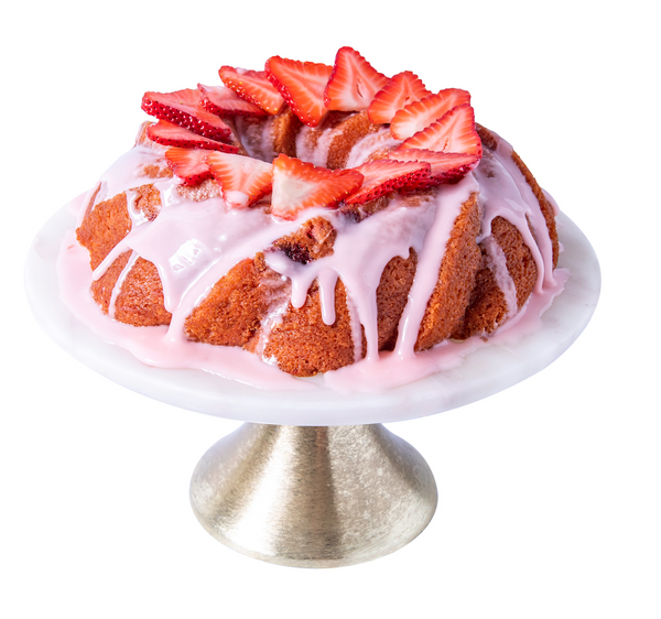 Strawberry Moscato Pound Cake