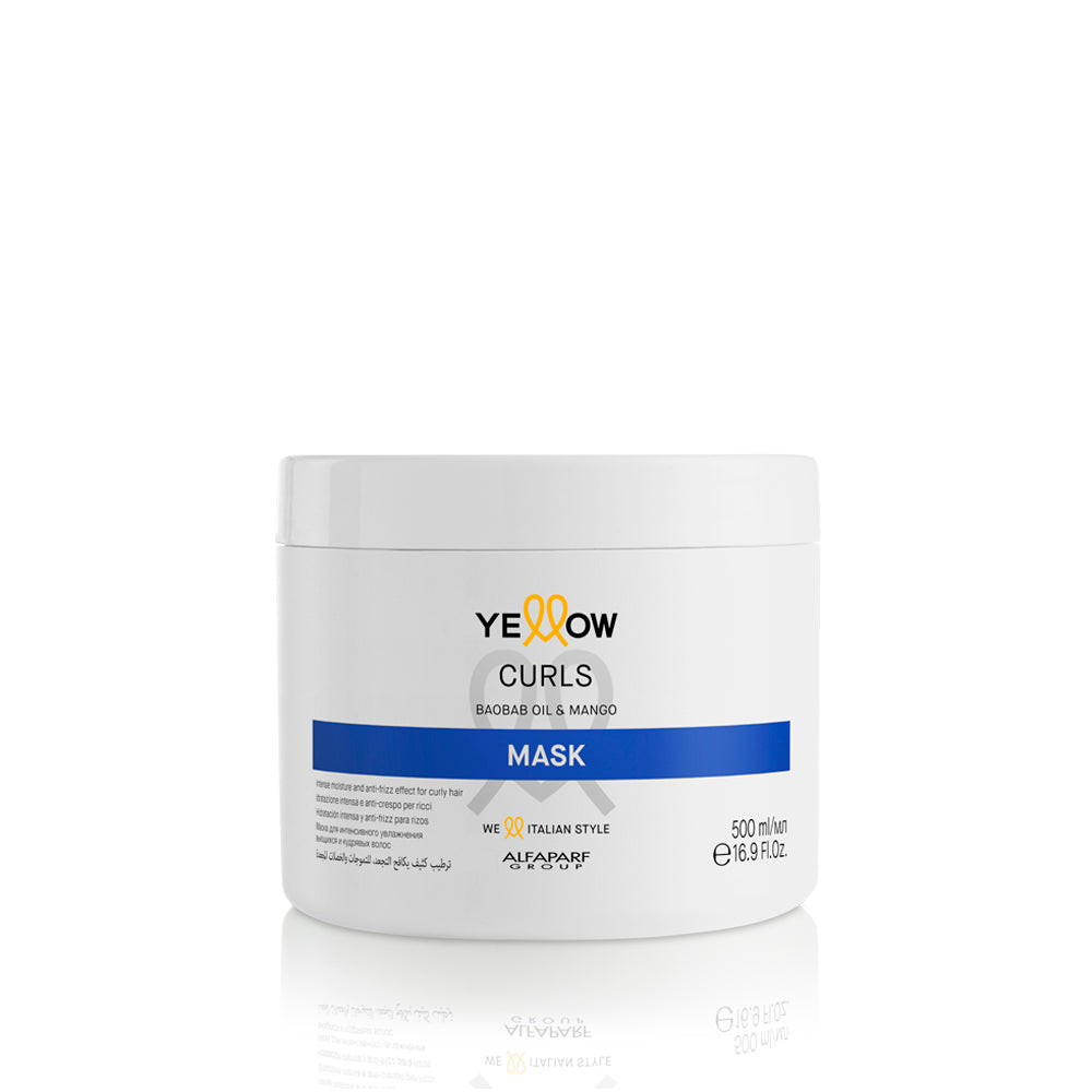 YELLOW CURLS - MASK 500 ML