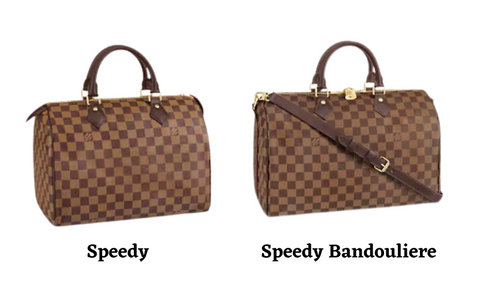LV Speedy vs. Speedy Bandouliere