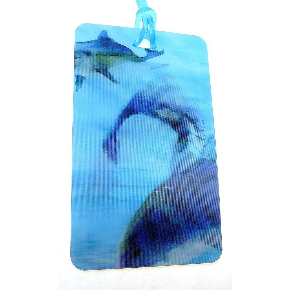 3D Luggage Tags - Dolphins
