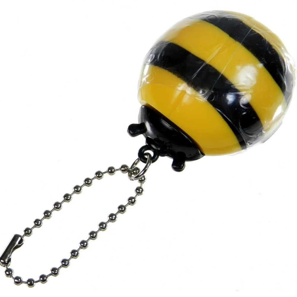 Honey Bee Lip Gloss With Chain