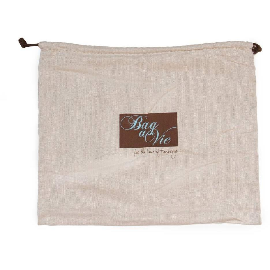 "Bag-A-Vie Dust Bag - Herringbone Canvas - Mini (14"" x 10"")"