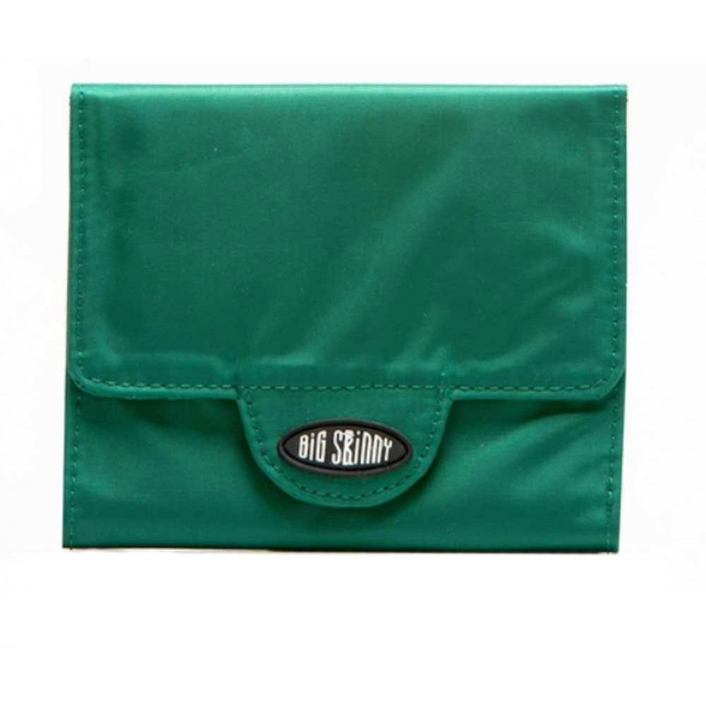Big Skinny Trixie Tri-Fold Wallet - Verdant Green