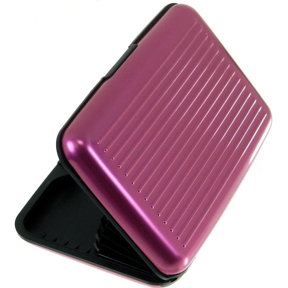 RFID Blocking Credit Card Case - Fuchsia