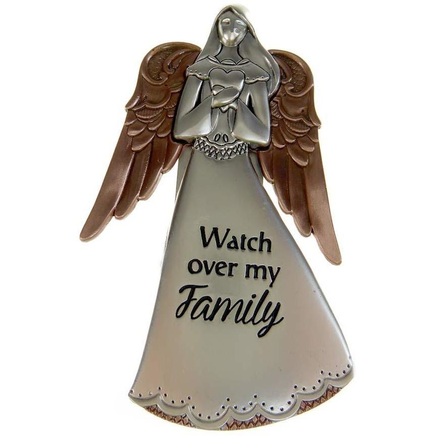 Angels of Faith Visor Clip - Watch over my Family