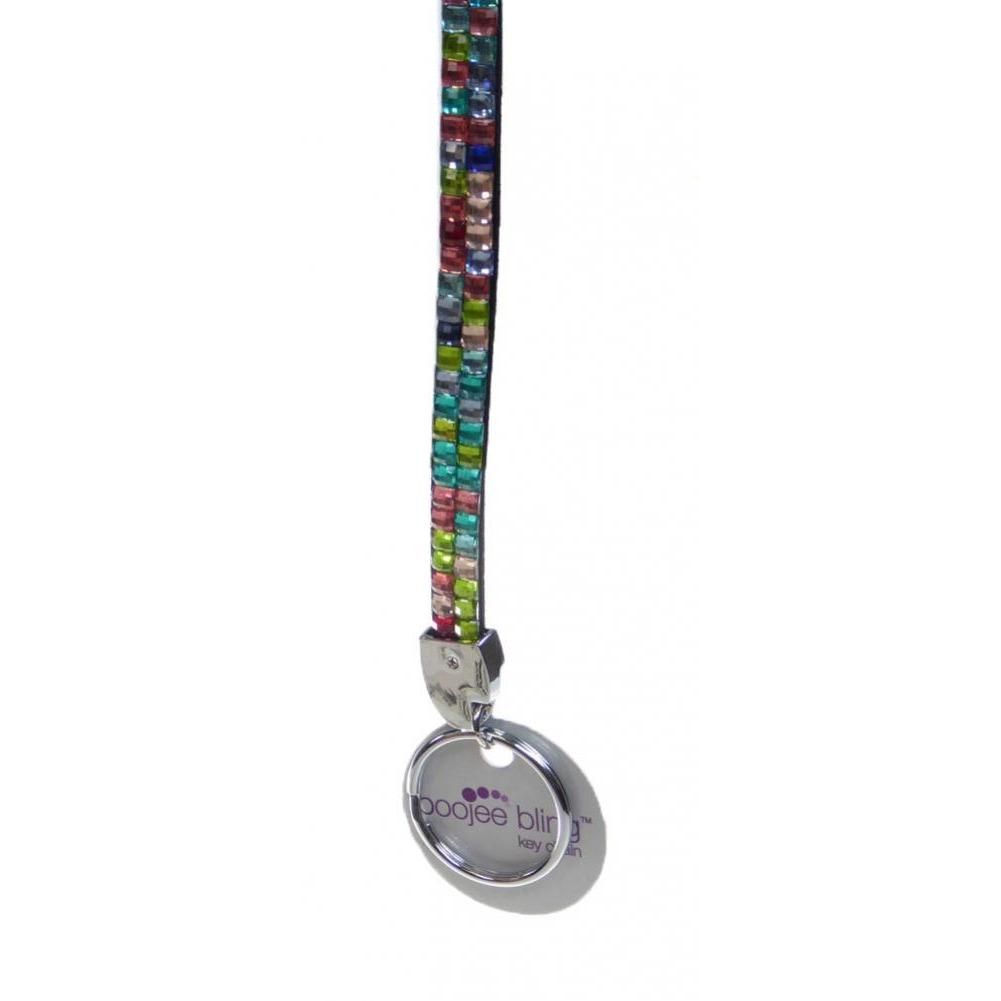 Bling Key Fob Wrist Strap - Multi