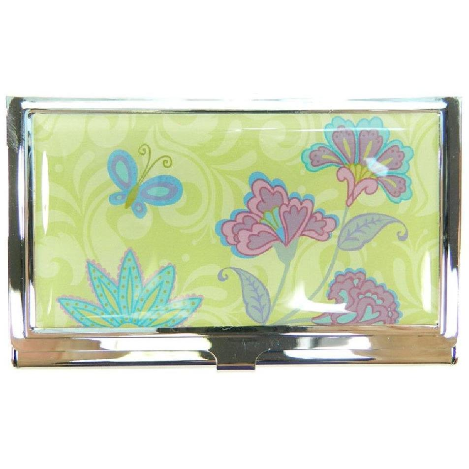 Business Card Case - La Fleur - Yellow