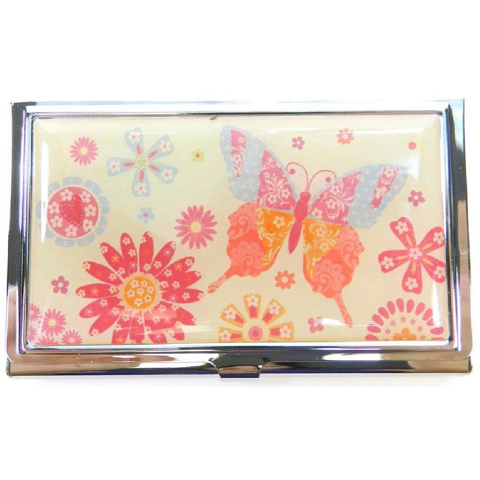 Business Card Case - Spring Floral - Spring Dance