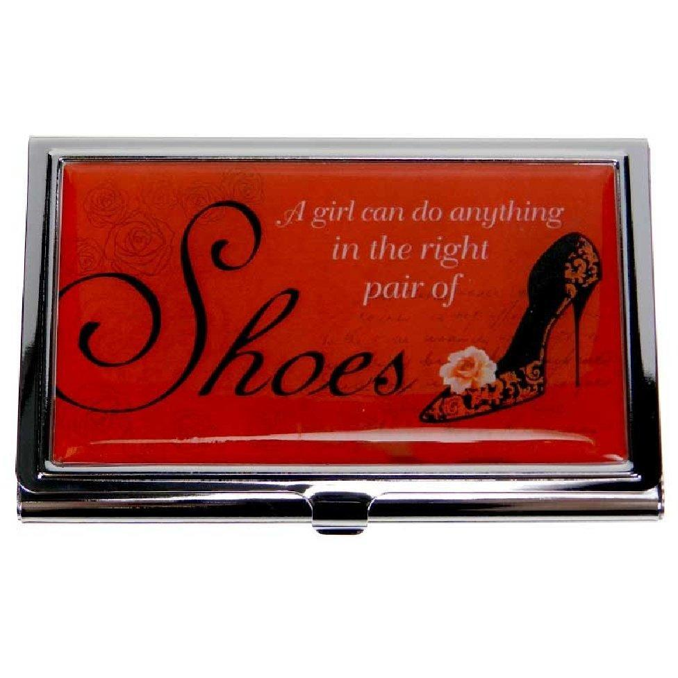 Business Card Case - Notable Quotes - The Right Shoes